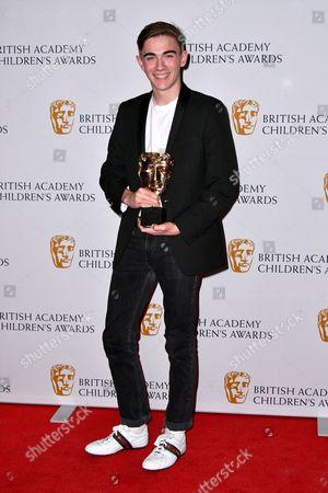 Nicholas James winner of Performer Award for Hank Zipzer in Hank Zipzer