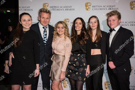 Megan Ramsay, Gordon Ramsay, Matilda Ramsay, Tana Ramsay, Holly Ramsay, Jack Ramsay