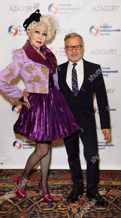 Pinkietessa and designer Jacques Azagury