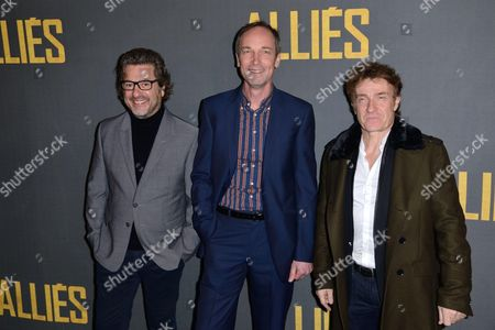 Eric Theobald, Xavier de Guillebon and Thierry Fremont