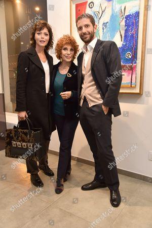 Vittoria Belvedere, Simona Marchini and Massimiliano Mucciaccia