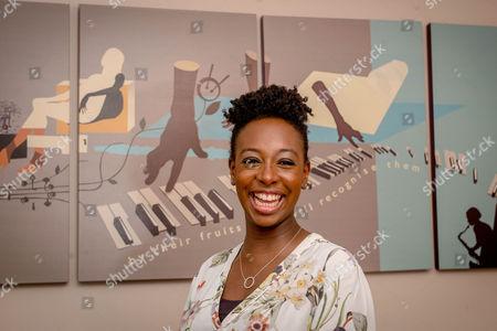 Saxophonist Yolanda Brown