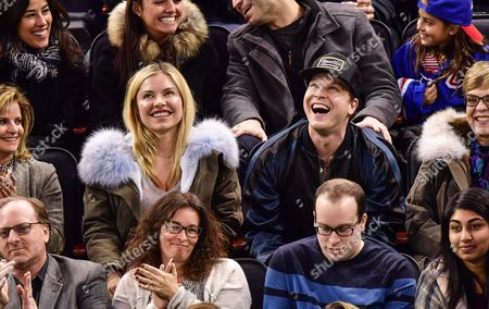 Editorial picture of Celebrities at New York Rangers v Florida Panthers, NHL ice hockey match, Madison Square Garden, New York, USA - 20 Nov 2016