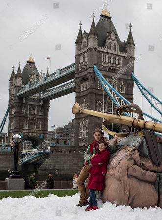 Stars Mark Rylance and Ruby Barnhill celebrate the release of The BFG on Digital Download, Blu-ray & DVD with a visit to a giant scene at Potters Field
