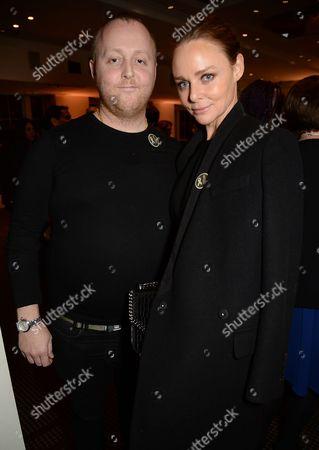 Stock Image of James McCartney and Stella McCartney