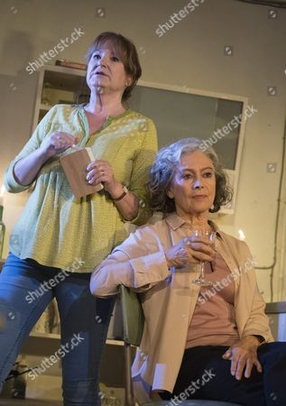 Deborah Findlay as Hazel, Francesca Annis as Rose,
