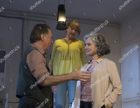 Ron Cook as Robin, Deborah Findlay as Hazel, Francesca Annis as Rose