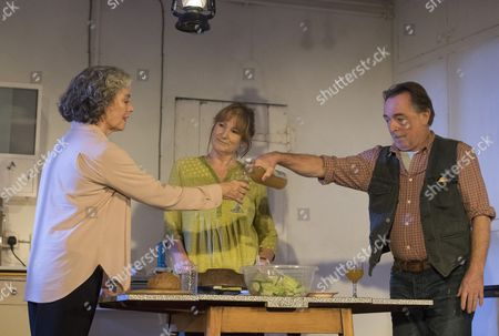 Francesca Annis as Rose, Deborah Findlay as Hazel,  Ron Cook as Robin,