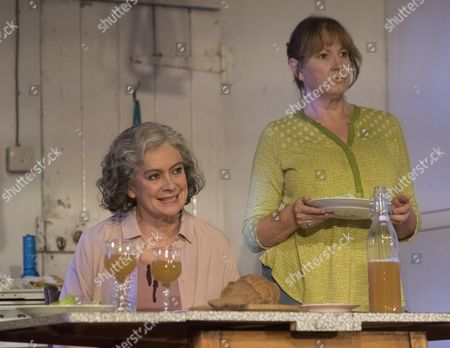Francesca Annis as Rose, Deborah Findlay as Hazel,