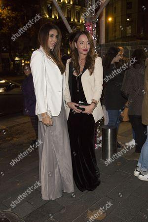 Ana Antic and Daniela Ospina