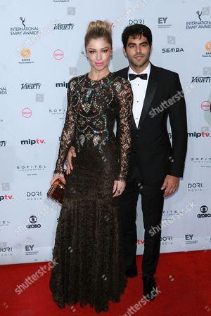 Stock Photo of Grazi Massafera and guest