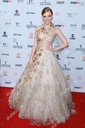 Editorial picture of 44th International Emmy Awards, New York, USA - 21 Nov 2016