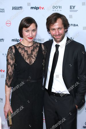 Stock Photo of Christiane Paul and Florian Stetter