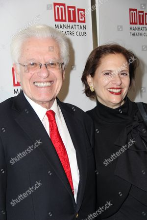 Stock Picture of Jerry Zaks and guest