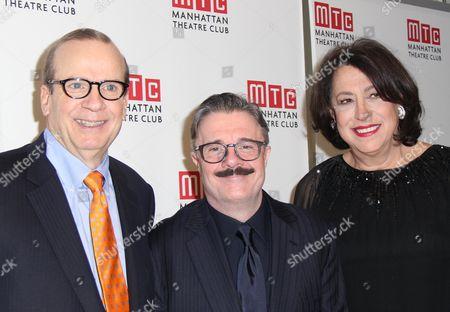 Barry Grove, Nathan Lane, Lynne Meadow