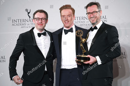 Stock Photo of Philipp Steffens, Damian Lewis and Jörg Winger