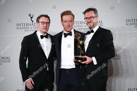 Editorial picture of 44th International Emmy Awards, Press Room, New York, USA - 21 Nov 2016