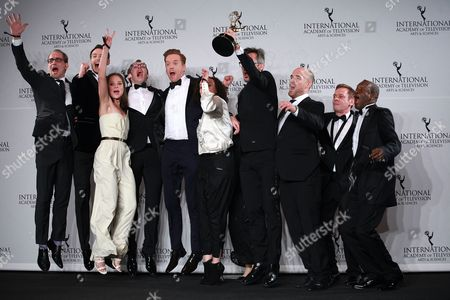 Editorial photo of 44th International Emmy Awards, Press Room, New York, USA - 21 Nov 2016