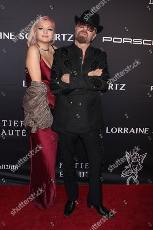 Kaya Stewart and Dave Stewart