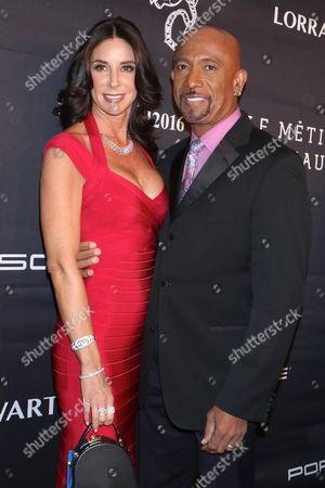 Tara Fowler and Montel Williams