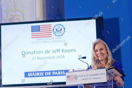 USA Ambassador to France Jane D. Hartley