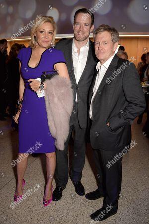 Nadja Swarovski, Rupert Adams and John Pawson