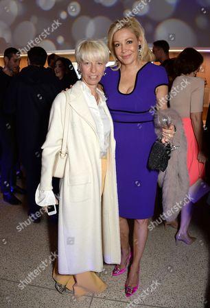 Mimma Viglezio and Nadja Swarovski