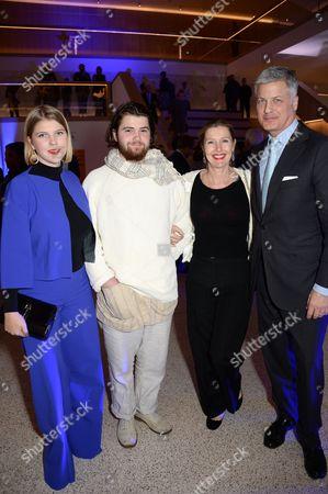 Coco Conran, Felix Conran, Sophie Conran and Nicholas Hofgren