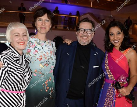 Editorial photo of The New Design Museum opening party hosted by Sir Terence Conran, Alexandra Shulman and Deyan Sudjic, supported by Swarovski, London, UK - 22 Nov 2016