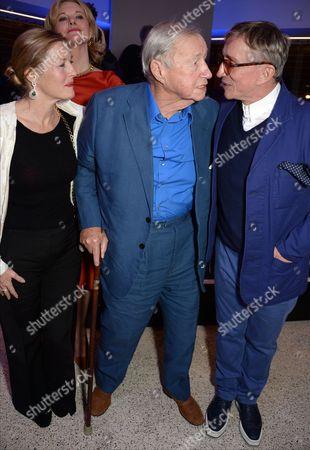 Sophie Conran, Sir Terence Conran and Jasper Conran