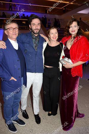 Jasper Conran, guest, Sophie Conran and Jasmine Guinness