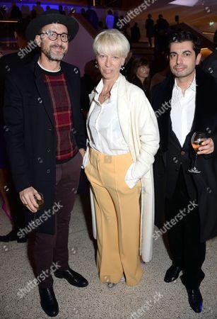Mimma Viglezio with guests