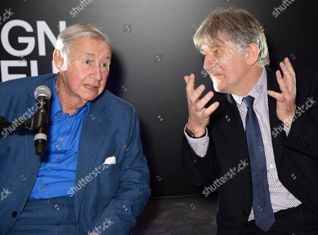 Sir Terence Conran and Deyan Sudjic