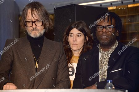 Jarvis Cocker, Bella Freud and Neville Hyde