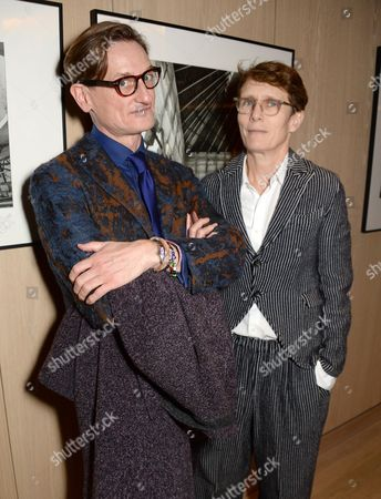 Hamish Bowles and guest