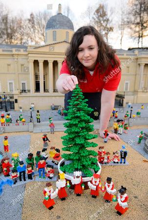 Editorial picture of Legoland Windsor Resort Christmas takeover, UK - 22 Nov 2016