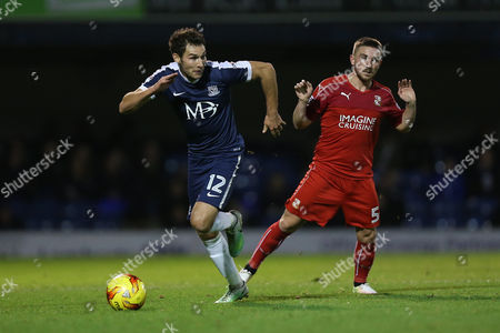 Will Atkinson of Southend United evades Anton Rodgers of Swindon Town during Southend United vs Swindon Town, Sky Bet EFL League 1 Football at Roots Hall on 22nd November 2016