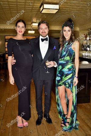 Imogen Little, Ben Little and Rosanna Falconer