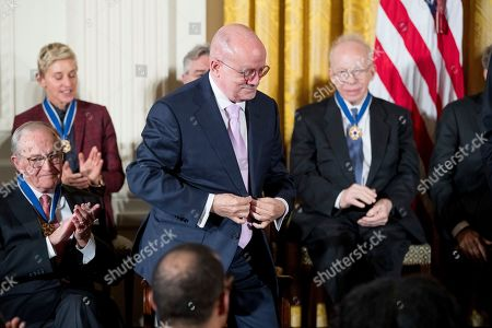 Eduardo Padron Miami Dade College President Eduardo Padron prepares to receive the Presidential Medal of Freedom to during a ceremony in the East Room of the White House, in Washington