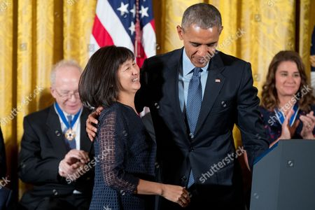 Editorial picture of Obama Medal of Freedom, Washington, USA - 22 Nov 2016