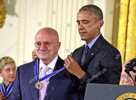Editorial image of Medal of Freedom presentation, Washington DC, USA - 22 Nov 2016