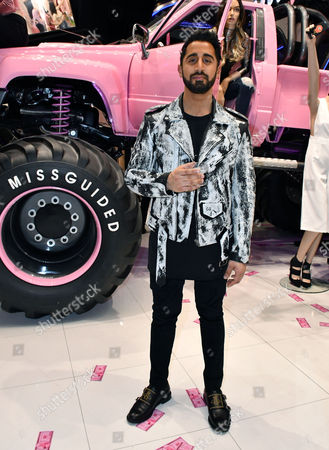 Editorial image of Missguided Official Store Launch Party, London, UK - 22 Nov 2016