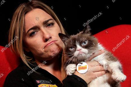 Editorial photo of People Grumpy Cat, New York, USA - 14 Nov 2016