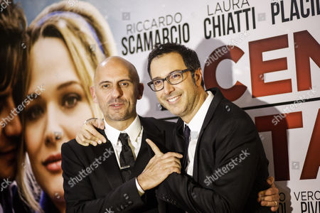 The director Marco Ponti, Luca Bianchini