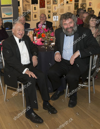 Ken Livingstone and Guardian cartoonist Steve Bell
