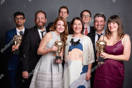 Stock Picture of BAFTA WINNERS: ANIMATION The Amazing World of Gumball Ben Bocquelet - Cartoon Network Studios with Amy Wren