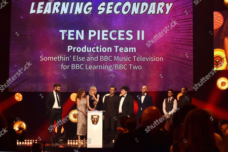 Category: Learning Secondary, Presenter: Ashley Kendall, Winner: Ten Pieces II Production Team