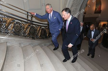 Stock Photo of Prince Charles, President, Business in the Community, and Antony Jenkins, Chairman, Business in the Community
