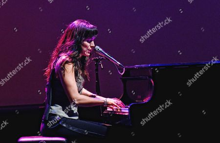 Editorial photo of Chantal Kreviazuk in concert, The Studio at Hamilton Place, Ontario, Canada - 13 Nov 2016