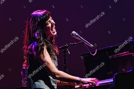 Editorial image of Chantal Kreviazuk in concert, The Studio at Hamilton Place, Ontario, Canada - 13 Nov 2016